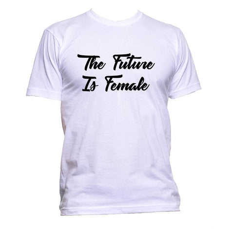AppleWormDesign • The Future Is Female Feminist gift - Men's T-Shirt •