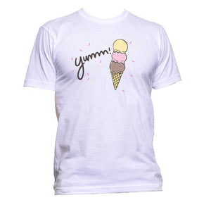 AppleWormDesign • Yumm Ice Cream gift - Men's T-Shirt •