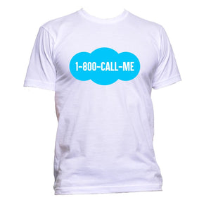 AppleWormDesign • 1 - 800 - Call - Me gift - Men's T-Shirt •