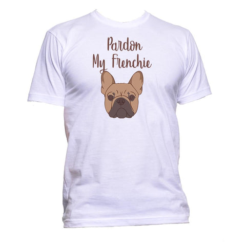 AppleWormDesign • Pardon My Frenchie Bulldog gift - Men's T-Shirt •