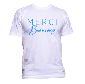 AppleWormDesign • Merci Beaucoup gift - Men's T-Shirt •