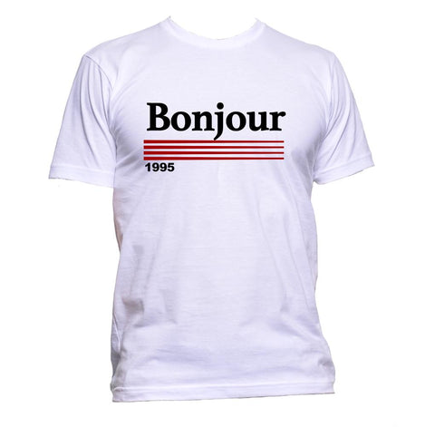 AppleWormDesign • Bonjour gift - Men's T-Shirt •