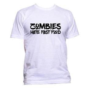 AppleWormDesign • Zombies Hate Fast Food gift - Men's T-Shirt •