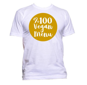 AppleWormDesign • %100 Vegan Menu gift - Men's T-Shirt •