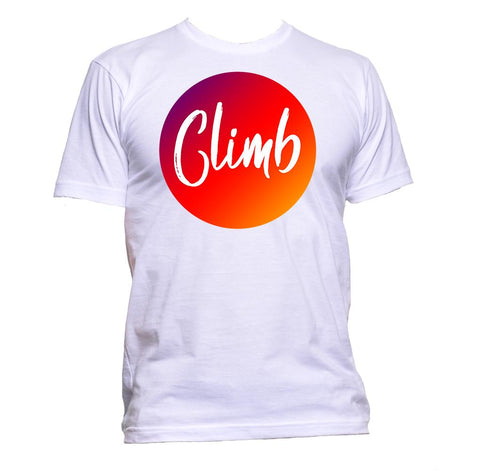 AppleWormDesign • Climb gift - Men's T-Shirt •