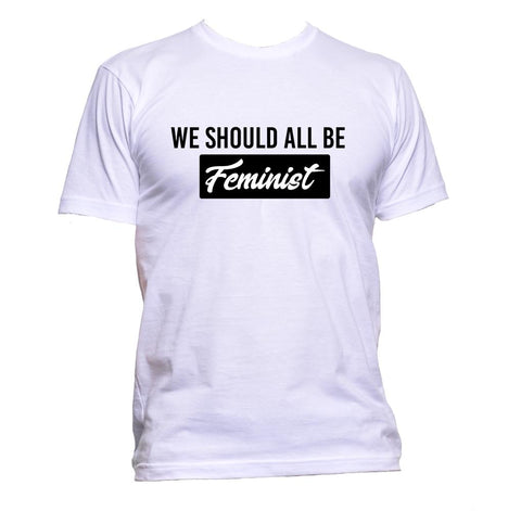 AppleWormDesign • We Should All Be Feminist gift - Men's T-Shirt •