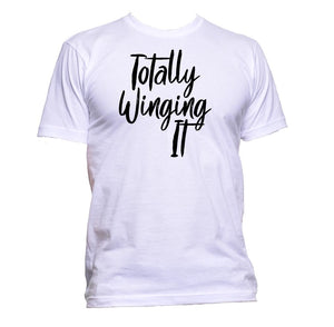 AppleWormDesign • Totally Winging It gift - Men's T-Shirt •