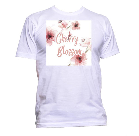 AppleWormDesign • Cherry Blossom gift - Men's T-Shirt •