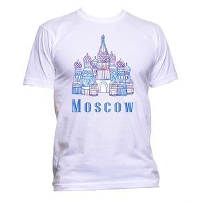 AppleWormDesign • Moscow Russia gift - Men's T-Shirt •