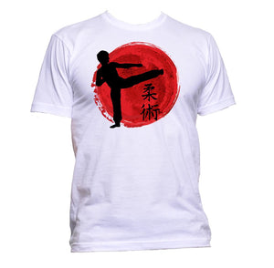 AppleWormDesign • Fight Japanese Sport gift - Men's T-Shirt •
