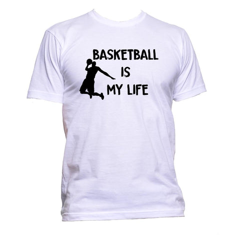 AppleWormDesign • Basketball Is My Life gift - Men's T-Shirt •