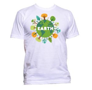 AppleWormDesign • Earth gift - Men's T-Shirt •