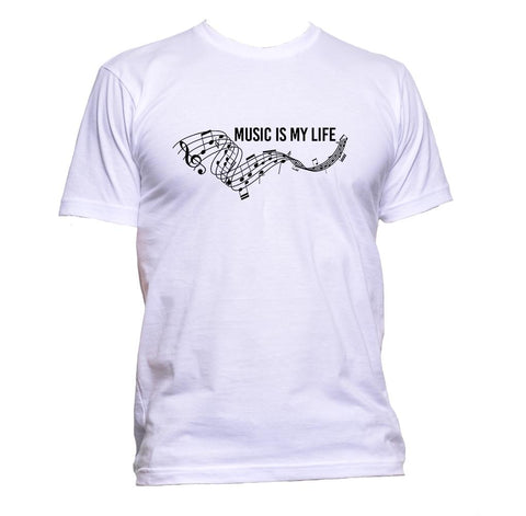 AppleWormDesign • Music Is My Life gift - Men's T-Shirt •