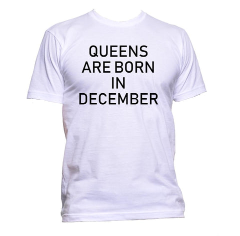 AppleWormDesign • Queens Are Born In December gift - Men's T-Shirt •