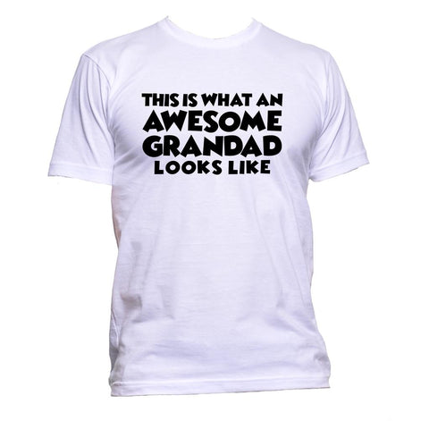 AppleWormDesign • This Is What An Awesome Grandad Looks Like gift - Men's T-Shirt •