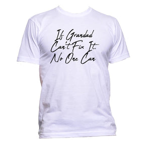 AppleWormDesign • If Grandad Can't Fix It No One Can gift - Men's T-Shirt •