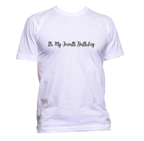 AppleWormDesign • It's My Forth Birthday gift - Men's T-Shirt •