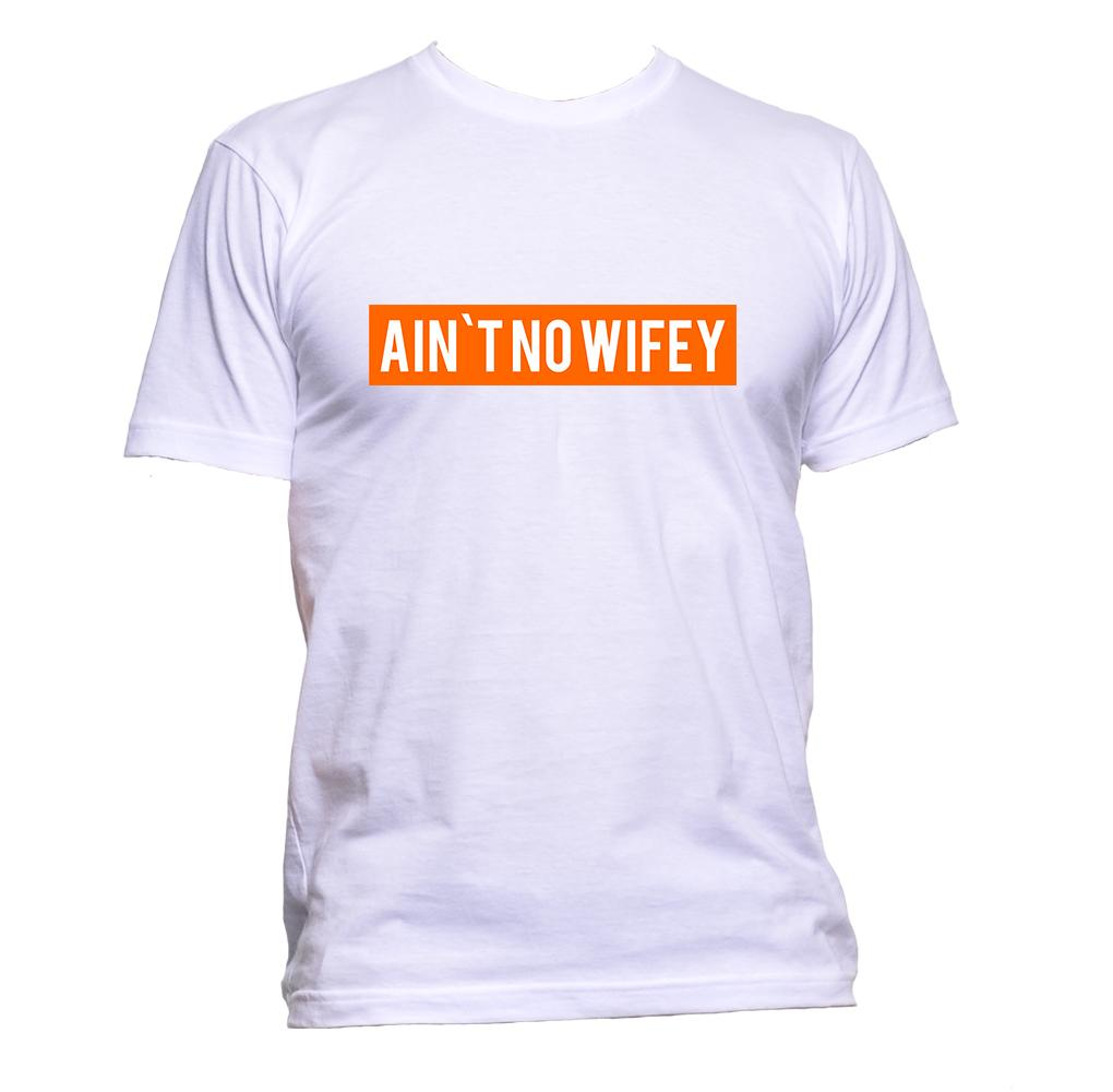 AppleWormDesign • Ain`t No Wifey gift - Men's T-Shirt •