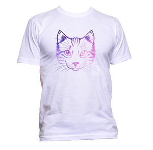 AppleWormDesign • Galaxy Kitten gift - Men's T-Shirt •