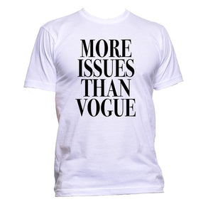 AppleWormDesign • More Issues Than Vogue gift - Men's T-Shirt •