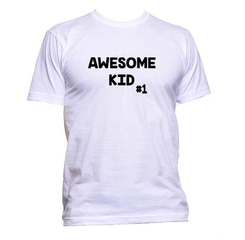 AppleWormDesign • Awesome Kid 1 gift - Men's T-Shirt •