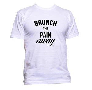 AppleWormDesign • Brunch The Pain Away gift - Men's T-Shirt •