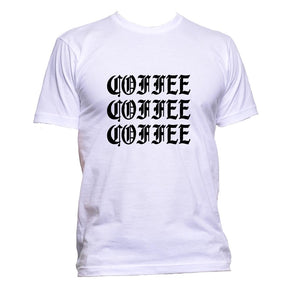 AppleWormDesign • Coffee Coffee Coffee gift - Men's T-Shirt •