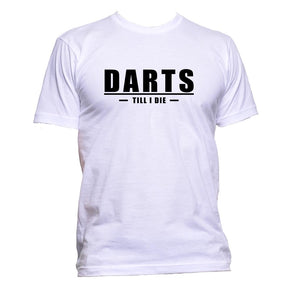 AppleWormDesign • Darts Till I Die gift - Men's T-Shirt •