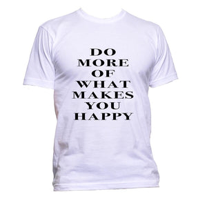 AppleWormDesign • Do More Of What Makes You Happy gift - Men's T-Shirt •