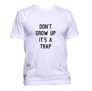 AppleWormDesign • Don't Grow Up It's A Trap gift - Men's T-Shirt •