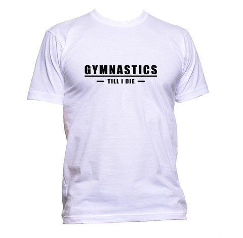 AppleWormDesign • Gymnastics Till I Die gift - Men's T-Shirt •
