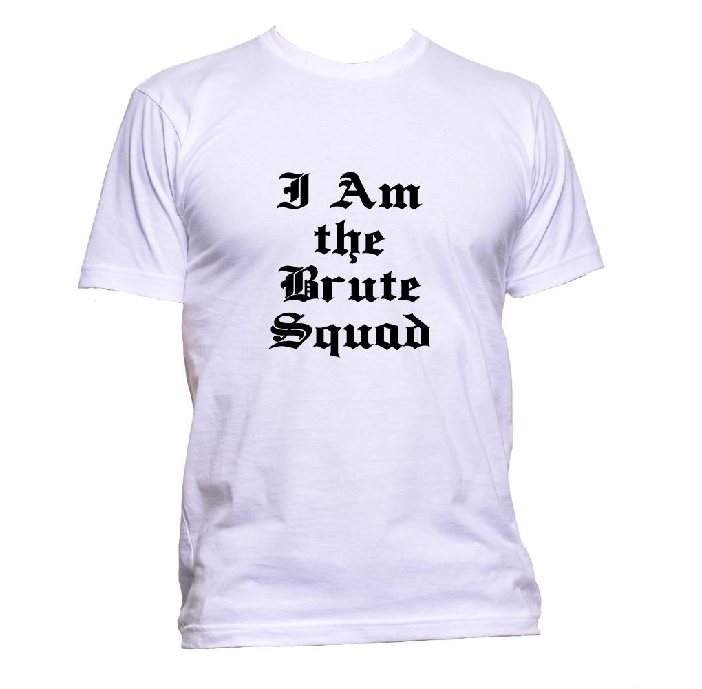 AppleWormDesign • I Am The Brute Squad gift - Men's T-Shirt •