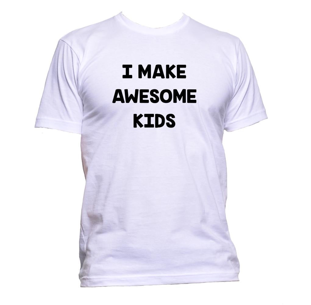 AppleWormDesign • I Make Awesome Kids gift - Men's T-Shirt •