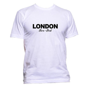 AppleWormDesign • London Born + Bred gift - Men's T-Shirt •