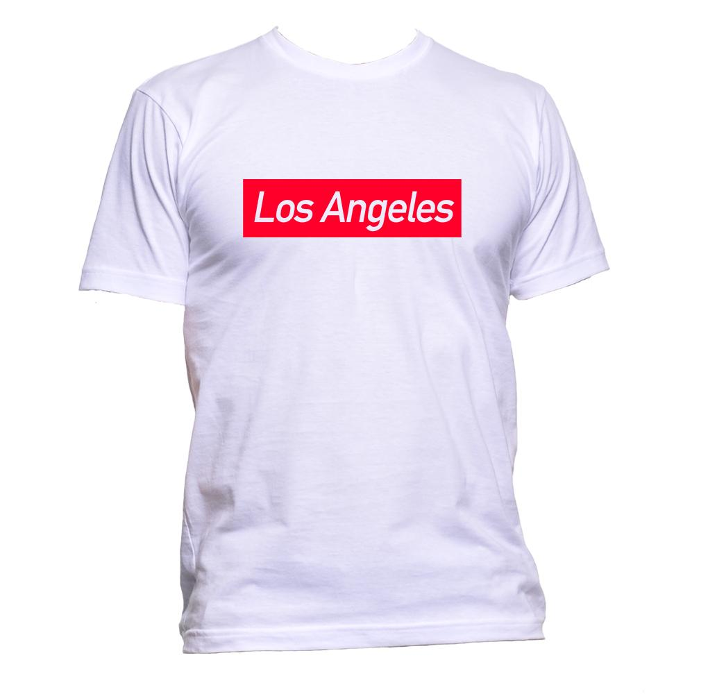 AppleWormDesign • Los Angeles gift - Men's T-Shirt •