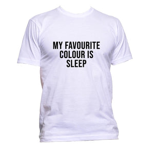 AppleWormDesign • My Favourite Colour Is Sleep gift - Men's T-Shirt •