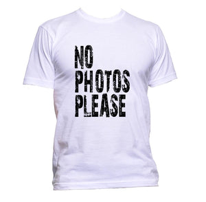 AppleWormDesign • No Photos Please gift - Men's T-Shirt •