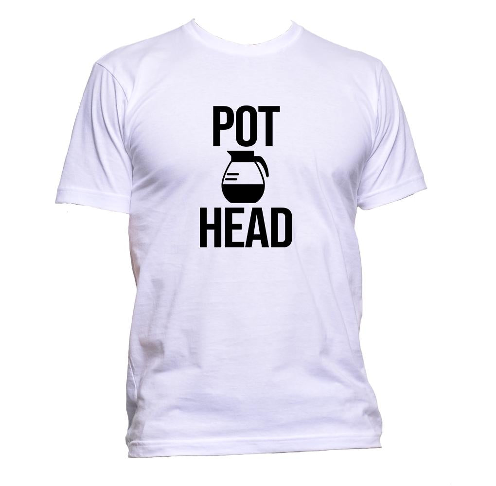 AppleWormDesign • Pot Head gift - Men's T-Shirt •