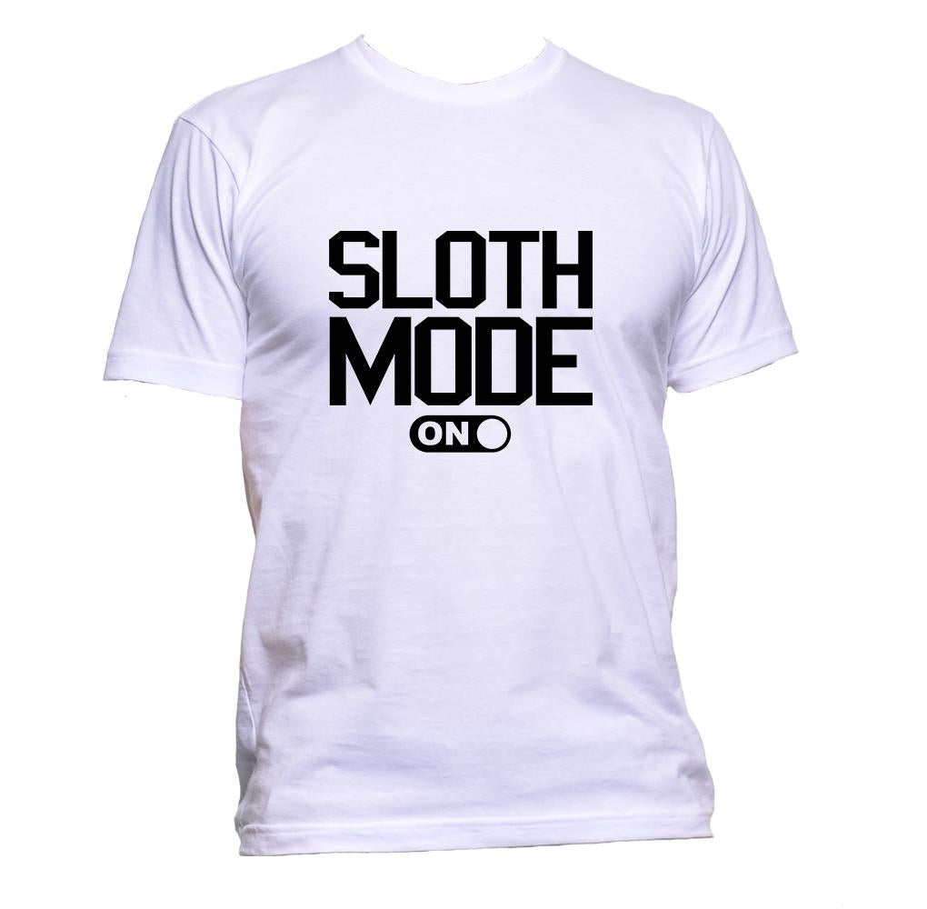 AppleWormDesign • Sloth Mode On gift - Men's T-Shirt •