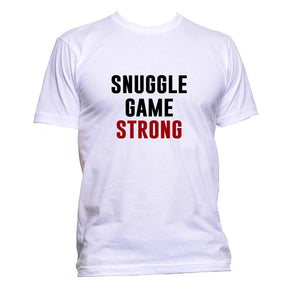 AppleWormDesign • Snuggle Game Strong gift - Men's T-Shirt •