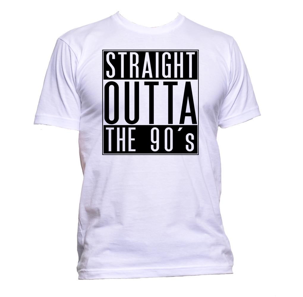 AppleWormDesign • Straight Outta The 90S gift - Men's T-Shirt •