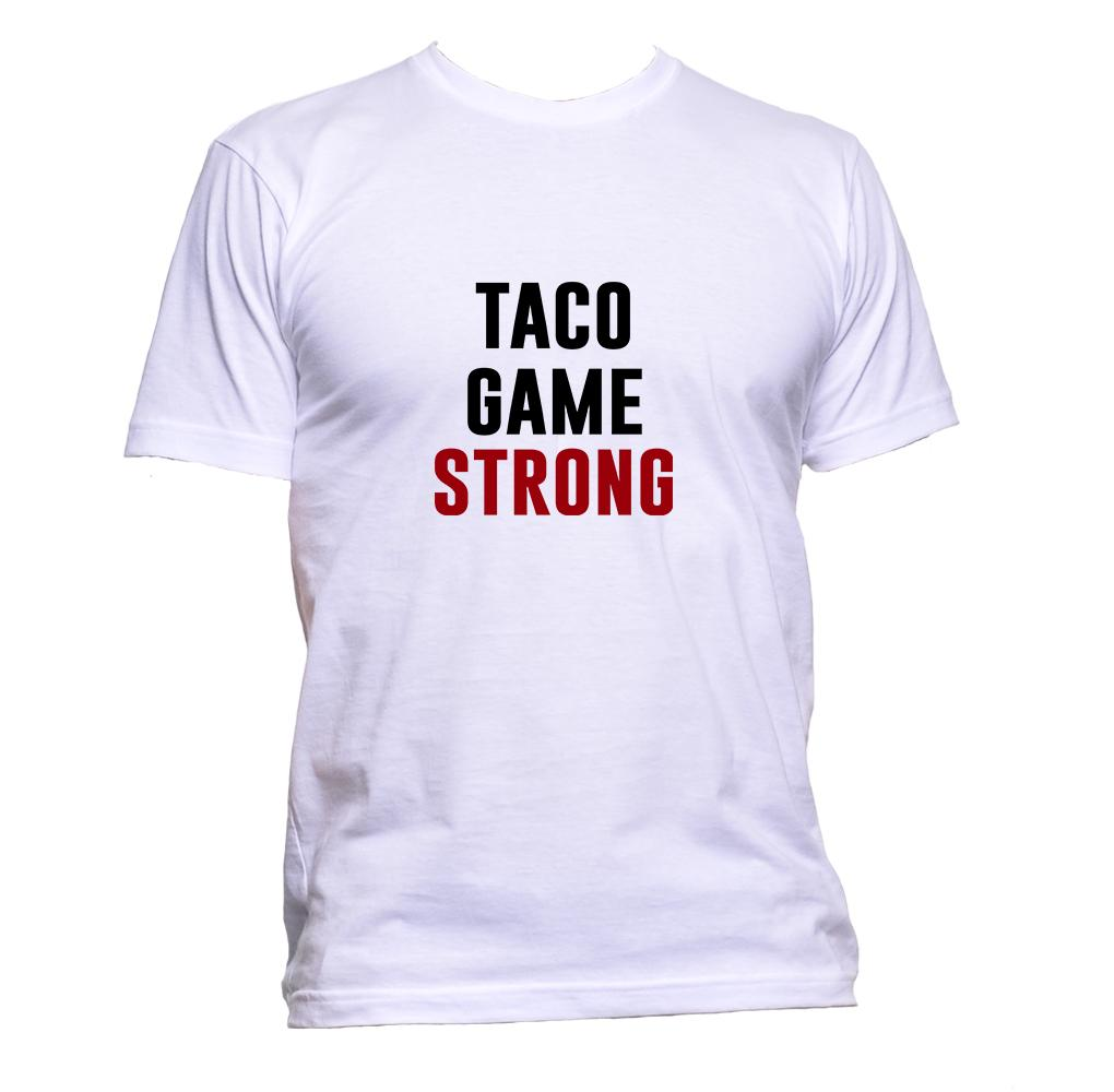 AppleWormDesign • Taco Game Strong gift - Men's T-Shirt •