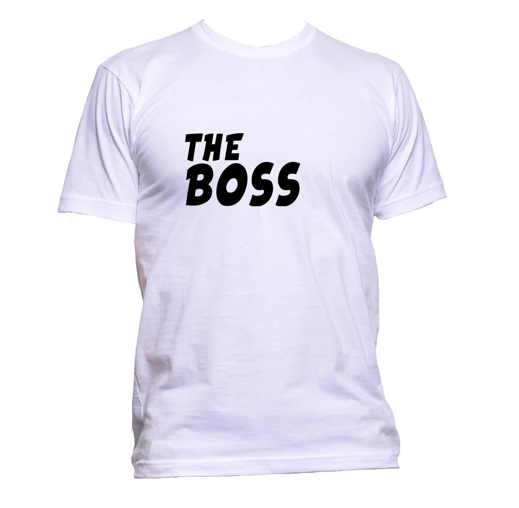AppleWormDesign • The Boss gift - Men's T-Shirt •