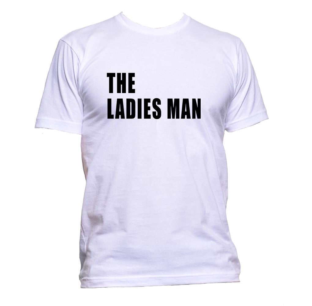 AppleWormDesign • The Ladies Man gift - Men's T-Shirt •