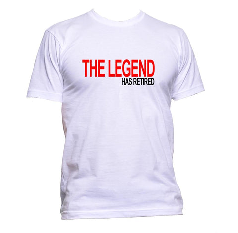 AppleWormDesign • The Legend Has Retired gift - Men's T-Shirt •