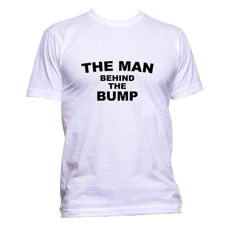AppleWormDesign • The Man Behind The Bump gift - Men's T-Shirt •