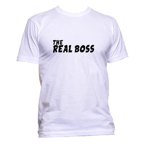 AppleWormDesign • The Real Boss gift - Men's T-Shirt •