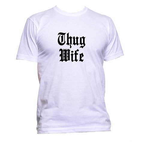 AppleWormDesign • Thug Wife gift - Men's T-Shirt •