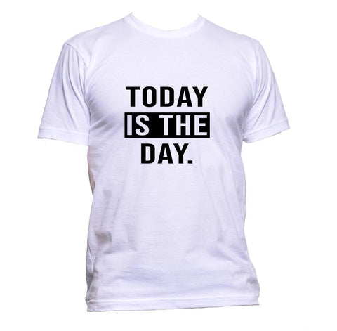 AppleWormDesign • Today Is The Day gift - Men's T-Shirt •