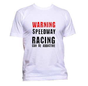 AppleWormDesign • Warning Speedway Racing Can Be Addictive gift - Men's T-Shirt •